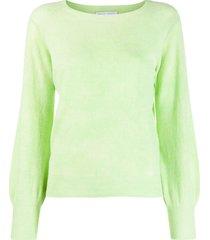 société anonyme fine knit sweatshirt - green