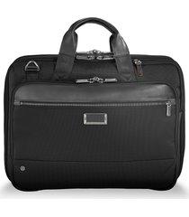 men's briggs & riley @work expandable briefcase - black