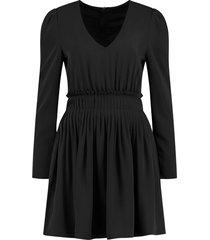 rachel pleated dress