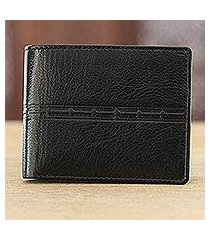 leather wallet, 'suave allure' (india)