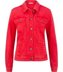 giacca di jeans elasticizzata (rosso) - john baner jeanswear