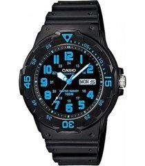 reloj casio mrw_200h_2bv negro resina