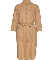 barbette dr jurk knielengte bruin part two