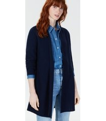 charter club pure cashmere pointelle-stitch cardigan, created for macy's