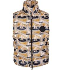 2 moncler 1952 parker vest gold tone