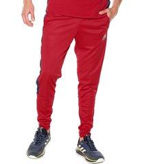 pantalón rojo-azul adidas performance tan club h