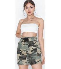 only onllene camo short skirt wvn midikjolar
