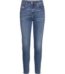 d-slandy-high l.32 trousers skinny jeans blå diesel women