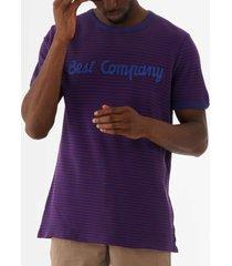 best company striped logo t-shirt - copiativo 692040