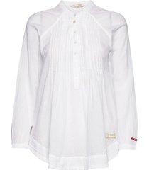 embrace me blouse blouse lange mouwen wit odd molly