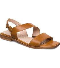 a-1407 shoes summer shoes flat sandals brun wonders