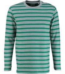 only & sons sweater grijs groen