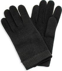 portolano women's cashmere gloves - black
