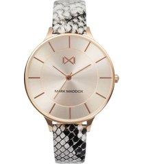 reloj mujer mark maddox animal print