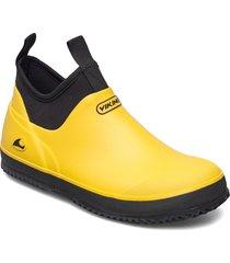 pavement regnstövlar skor gul viking