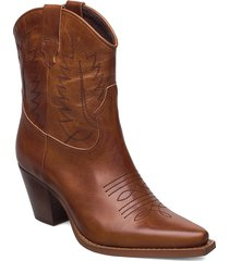 hara shoes boots ankle boots ankle boot - heel brun re:designed est 2003