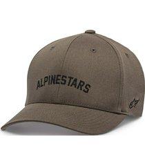 gorro judgement verde militar alpinestars