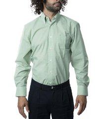 camisa premium cuadrillé verde kotting