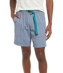 men's rvca men's civic hybrid shorts, size x-large - grey