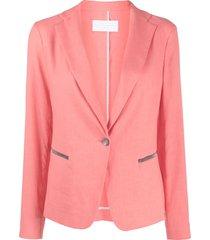 fabiana filippi bead-embellished blazer - pink