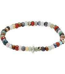 jean claude men's semi-precious randel bracelet