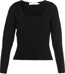 proenza schouler quilted viscose sweater