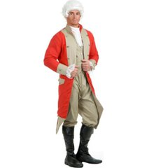 buyseasons men's british red coat adult costume