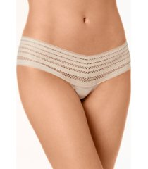 dkny classic cotton embroidered-waist thong underwear dk5025