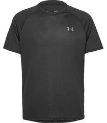ua tech 2.0 ss tee t-shirts short-sleeved svart under armour