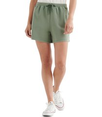 women's lucky brand the summer drawstring shorts, size x-large - green