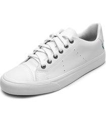 sapatãªnis couro reserva logo branco - branco - masculino - couro - dafiti