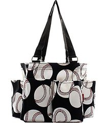 baseball canvas multipurpose utility caddie tote bag travel