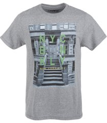 univibe men's the stoop graphic t-shirt