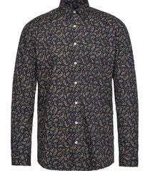 printed l/s shirt overhemd casual multi/patroon lindbergh
