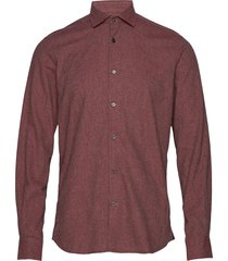 dolwen button down shirt skjorta casual röd morris