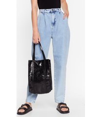 womens want shine is now tote bag - black
