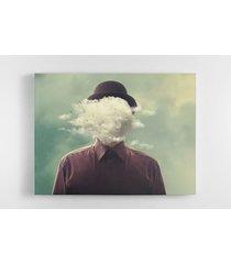 cuadro lienzo tayrona store hombre sombrero nubes 02