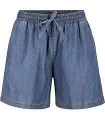 shorts larghi in denim leggero con tencel ™ lyocell (blu) - bpc bonprix collection
