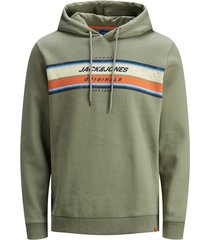 sweater jack & jones groen plus size