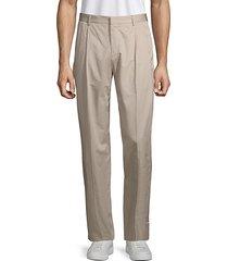 paton pleated cotton pants
