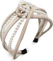 8 other reasons glass pearl twist headband