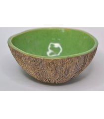 misa ceramiczna drzewo- zielona