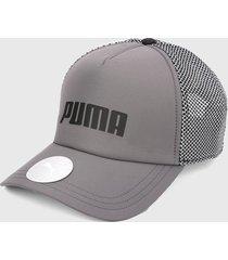 gorra gris puma trucker cap