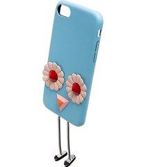 embellished leather iphone 7 case