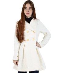casaco sobretudo rioutlet branco
