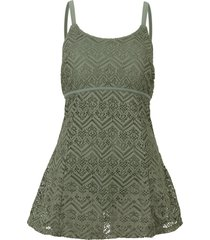 abito da bagno (verde) - bpc bonprix collection