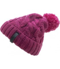 gorro de lana beanie pink flaw