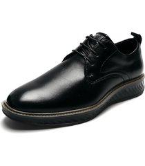zapato de amarrar negro pierre cardin pc8662-a