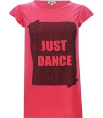 camiseta just dance color naranja, talla 8