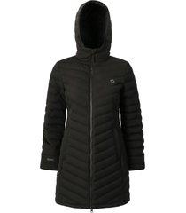 abrigo mujer lilit negro doite
